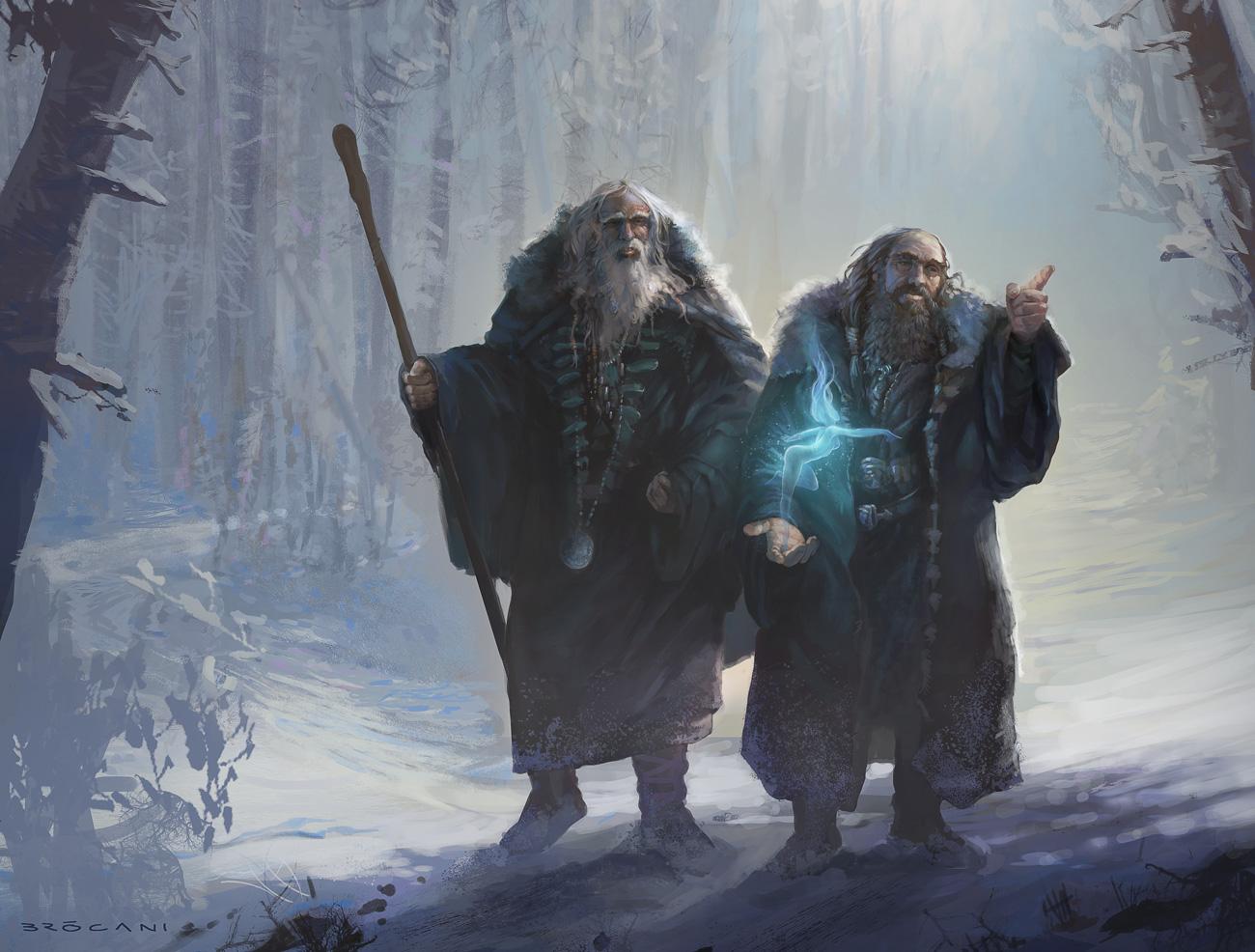 the blue wizards notpill the art of giuliano bròcani